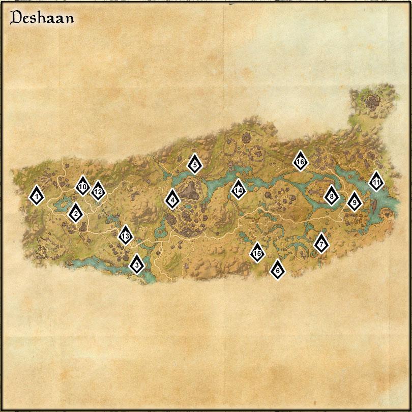 Deshaan - Skyshards