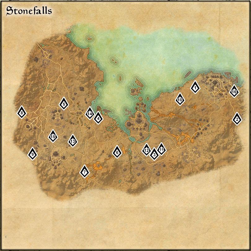 Stonefalls - Skyshards