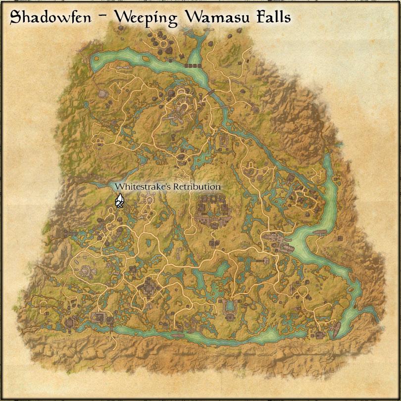 Weeping Wamasu Falls: Whitestrake's Retribution
